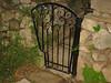 North garden gate - Muerer residence - La Canada, CA