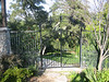 South garden gate with trellis - Muerer residence, La Canada, CA