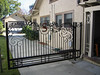 Drive-through gate - Sanders residence, Pasadena, CA