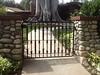 Walk-through gate - Sieder residence, Pasadena, CA