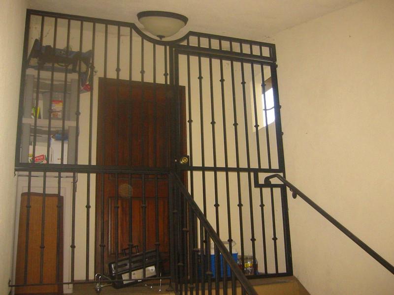 Rear condo security gate - Pasadena, CA