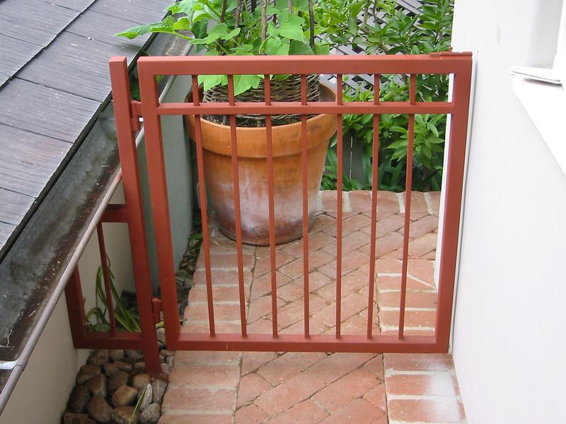 Dog gate - White Residence, Pasadena, CA