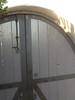 Gate detail - Atencio residence, Los Feliz, CA
