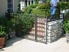 Back gate - White residence, Pasadena, CA