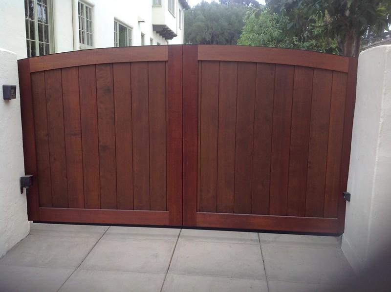 Driveway Gate; Miller residence, San Marino, CA