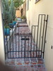 Side gate - Ramirez residence, Altadena, CA