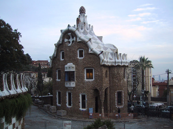 Park Guell gift shop