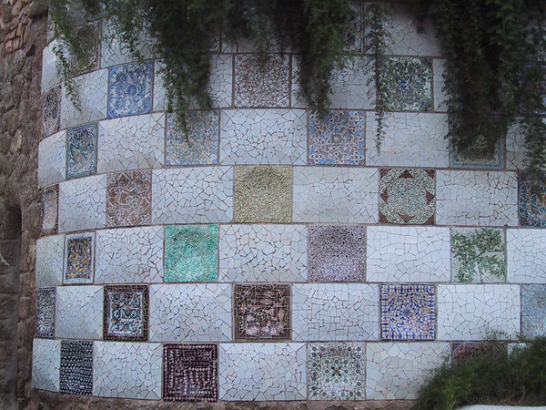 Park Guell wall detail