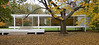 Dr. Edith Farnsworth House, South Facade<br /> Ludwig Mies van der Rohe, 1951<br /> Plano, Illinois