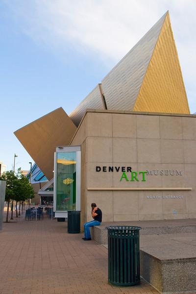 Hamilton Building, Denver Art Musuem<br /> Daniel Libeskind; 2006