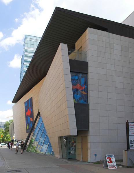 Bata Shoe Museum,  N.W. <br /> Raymond Moriyama, 1995<br /> Toronto