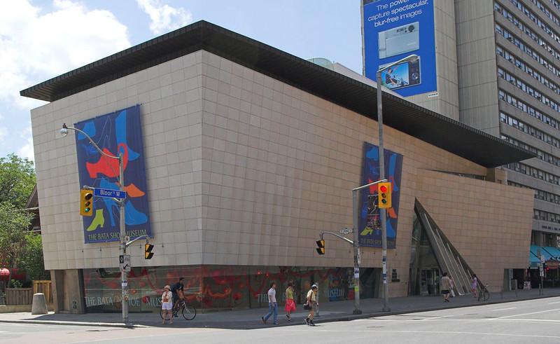 Bata Shoe Museum,  N.E. Corner<br /> Raymond Moriyama, 1995<br /> Toronto