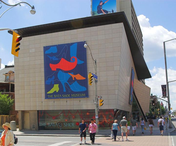 Bata Shoe Museum,  East Facade<br /> Raymond Moriyama, 1995<br /> Toronto