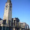 May 2012. Glasgow city centre. St Vincent Street Church, designed by Alexander 'Greek' Thomson in 1858–9. My guidebook states: 'the powerful tower engrosses Egyptian, Graeco-Roman, perhaps even Indian motifs in uniquely inventive combination'.