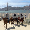 US Park Police patrol the area during the 75th anniversary celebration of the Golden Gate Bridge in San Francisco, California, on May 27, 2012. UPI/David Yee