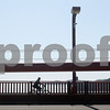 A bicyclist rides across the Golden Gate Bridge during a celebration of its 75th anniversary in San Francisco, California, on May 27, 2012. UPI/David Yee
