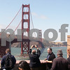People view and photograph the Golden Gate Bridge during a celebration of its 75th anniversary in San Francisco, California, on May 27, 2012. UPI/David Yee