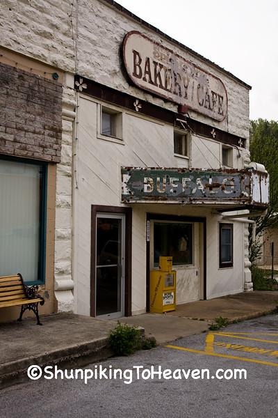 Abandoned Theater/Bakery/Cafe, Newton County, Arkansas