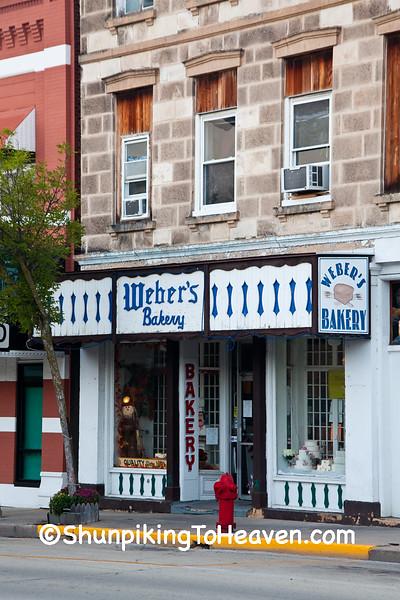 Weber's Bakery, Lodi, Wisconsin