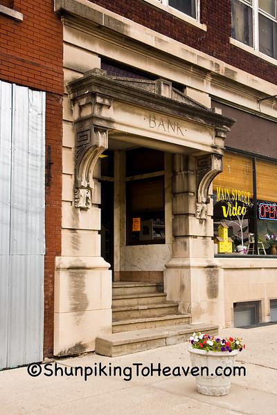 Old Bank Building, Belle Plaine, Iowa