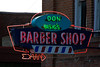 Sign for Don Bisig's Barber Shop, St. Joseph, Missouri