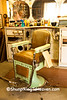 Antique Barber Chair, Markleville, Indiana