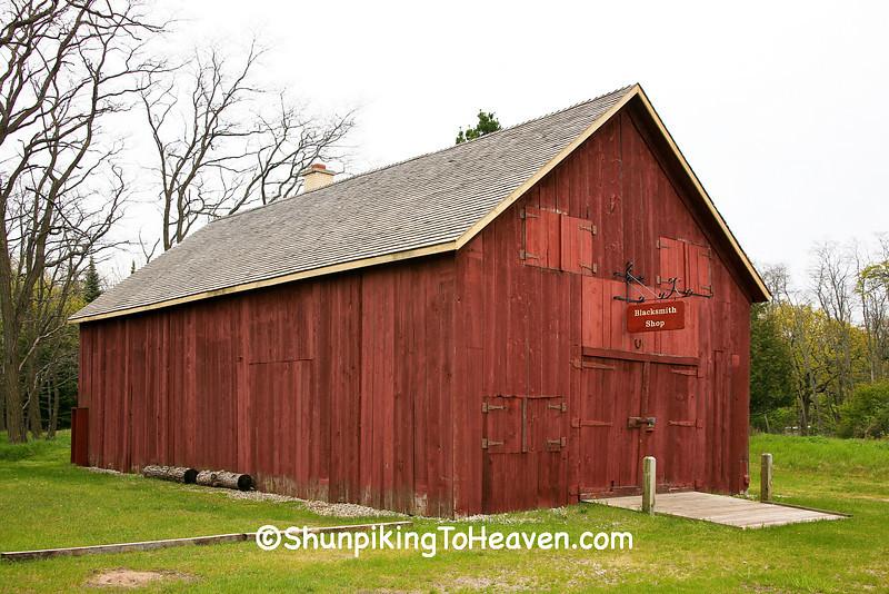 Blacksmith Shop, Leelanau County, Michigan