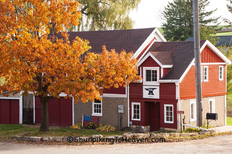 Postville Blacksmith Shop, Green County, Wisconsin