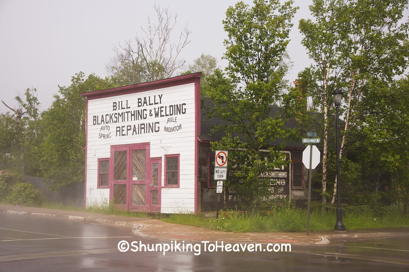 Bill Bally Blacksmith Shop, Grand Marais, Minnesota