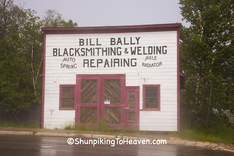 Bill Bally Blacksmith Shop, Grand Marais, Minnesota
