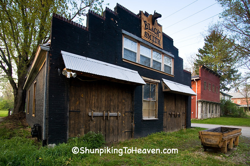 Clifton Blacksmith Shop, Greene County, Ohio