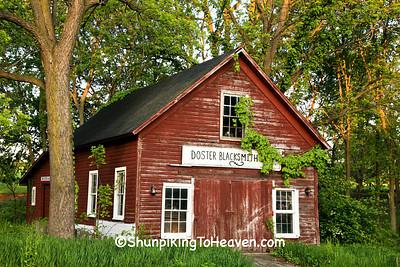 Doster Blacksmith Shop, Barry County, Michigan