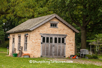 Grave's Blacksmith Shop, Cooksville, Wisconsin