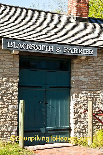 Webb Blacksmith Shop, Historic Nauvoo, Illinois
