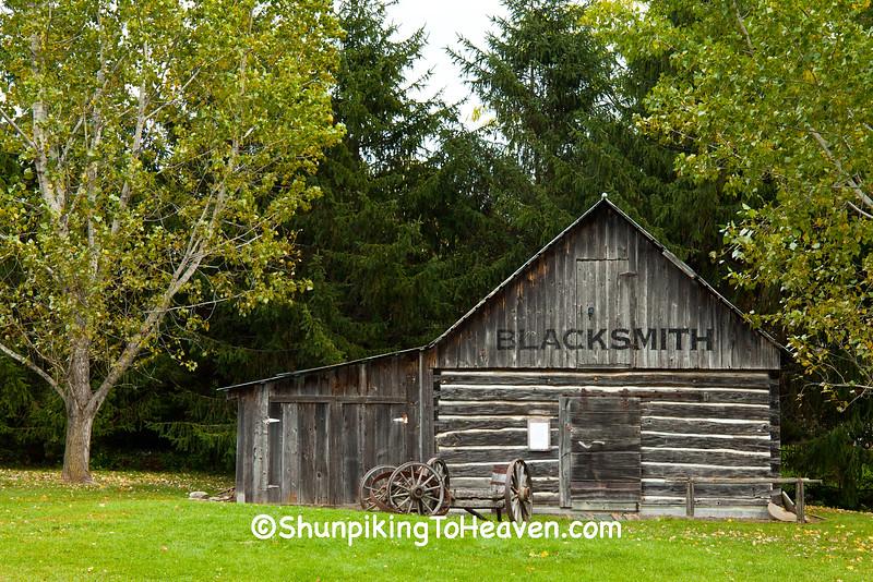 Blacksmith Shop, St. Croix County, Wisconsin