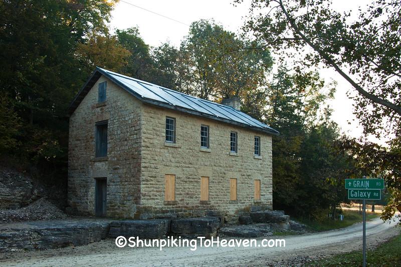 Stone Cooperage, Clayton County, Iowa