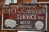 Electric Motor Service Sign, Buchanan County, Missouri