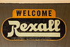 Old Fashioned Rexall Drug Store Sign, Ackley, Iowa
