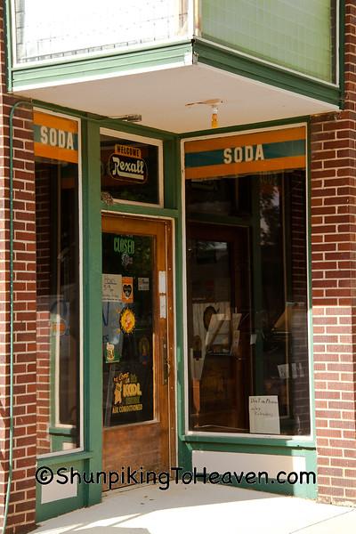 Rexall Drug Store Entrance, Ackley, Iowa