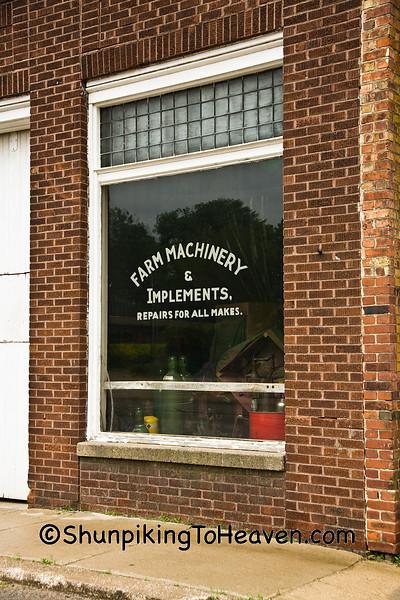 Farm Implement Store, Belle Plaine, Iowa