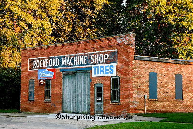 Rockford Machine Shop, Floyd County, Iowa