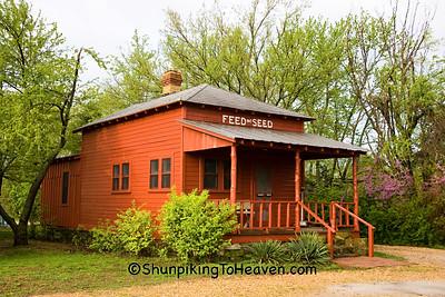 Feed and Seed Store, Red Oak II, Jasper County, Missouri