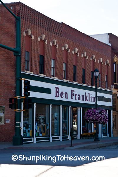 Ben Franklin Store, Winterset, Iowa
