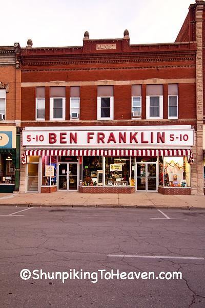Ben Franklin Five and Dime Store, Chariton, Iowa