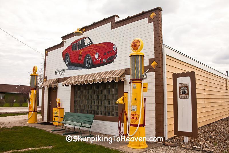 Replica Shell Service Station, Dwight, Illinois