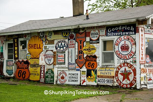 Preston's Station on the Lincoln Highway, Belle Plaine, Iowa