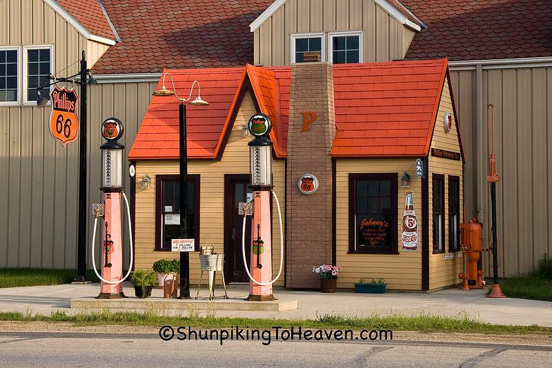 Phillips 66 Gas Station, O'Brien County, Iowa