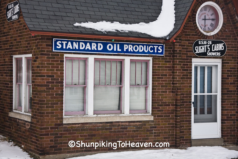 Standard Oil Gas Station, Dodge County, Wisconsin