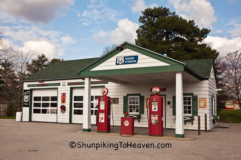 Ambler-Becker Texaco Station, Dwight, Illinois