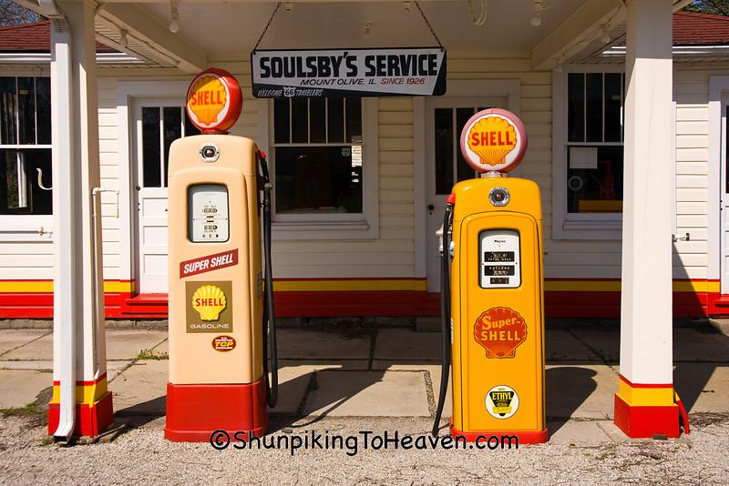 Soulsby's Service Station, Mount Olive, Illinois